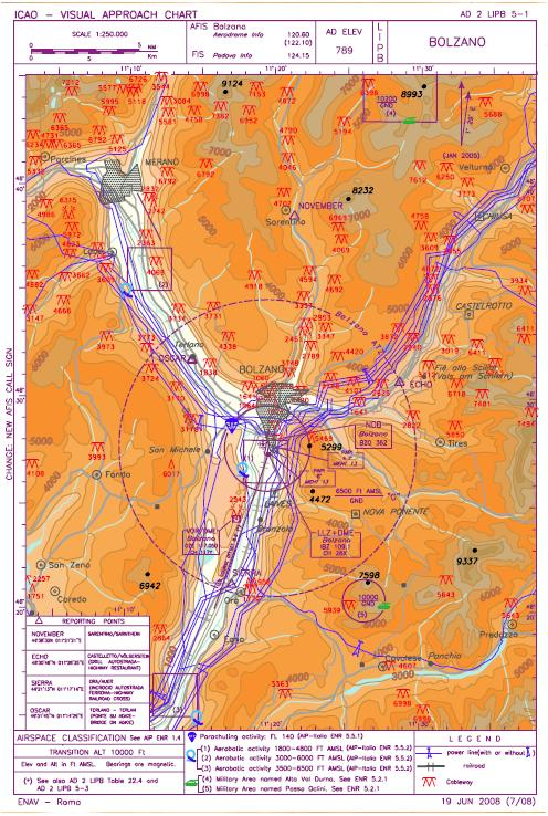 Maps From Trento  Lidt  To Bolzano  Lipb   2 May 2009